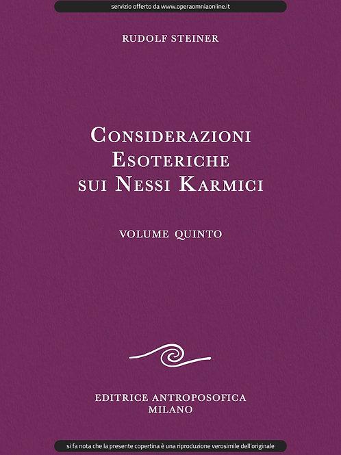 O.O. 239 - Considerazioni Esoteriche sui Nessi Karmici (Volume V)