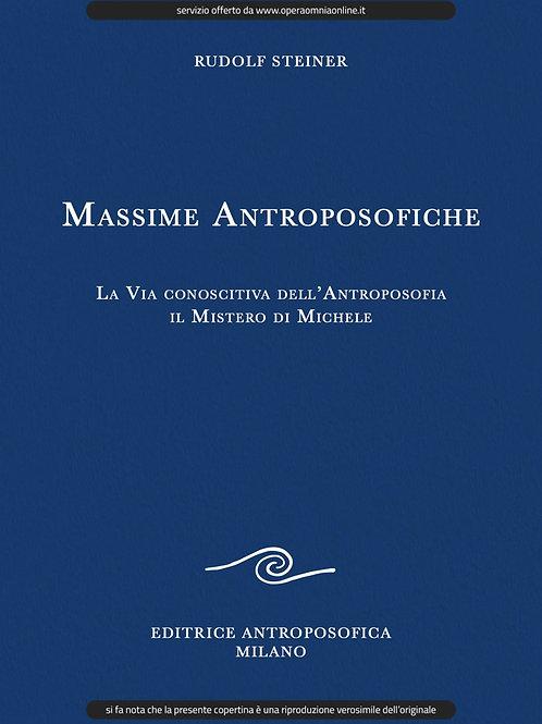 O.O. 26 - Massime Antroposofiche - La Via conoscitiva dell'Antroposofia
