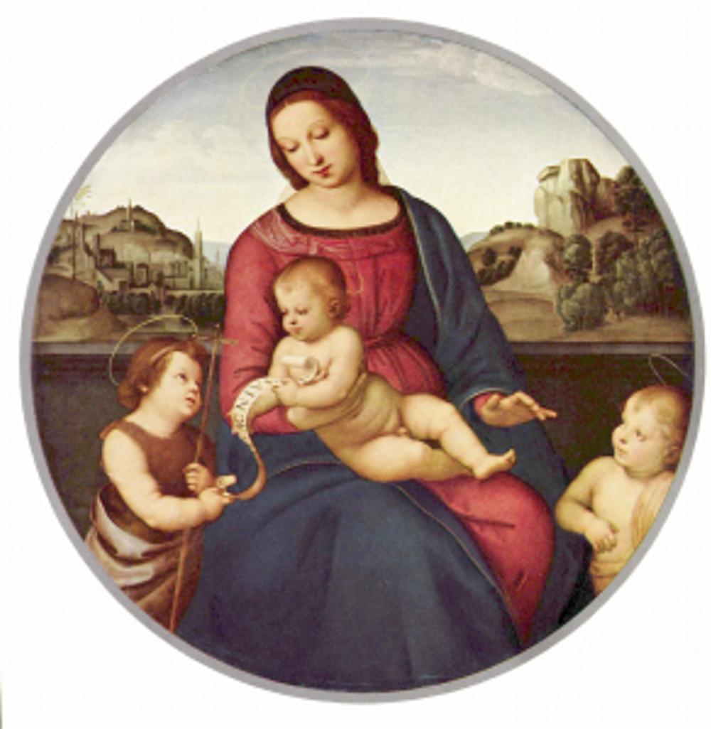 Raffaello Sanzio: Madonna Terranuova (1504-05)