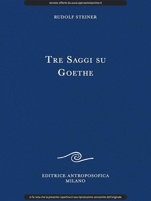 O.O. 22 - Tre Saggi su Goethe