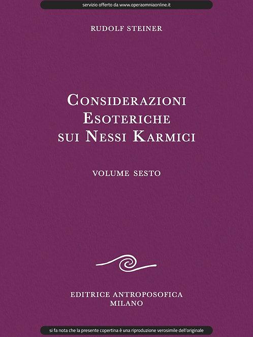 O.O. 240 - Considerazioni Esoteriche sui Nessi Karmici (Volume VI)