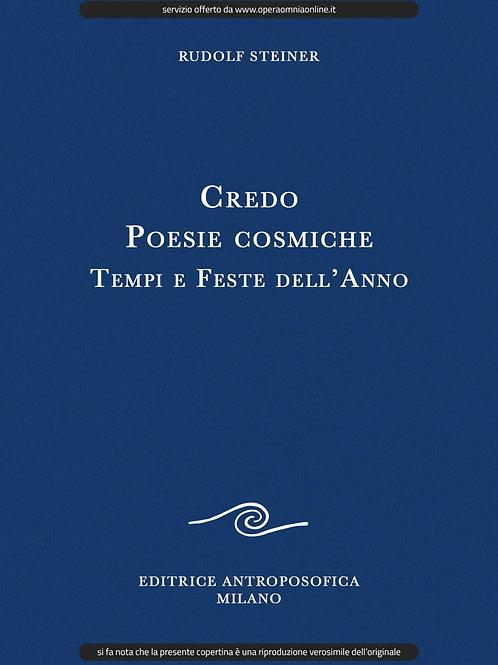 O.O. 40 - Credo, Poesie Cosmiche, Tempi e Feste dell'Anno