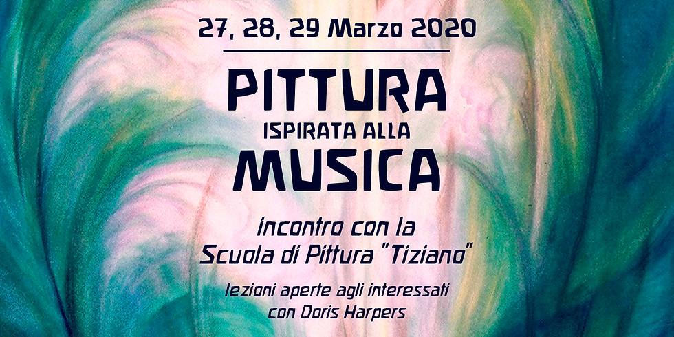 PITTURA ISPIRATA ALLA MUSICA - con Doris Harpers