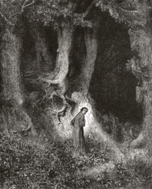 Gustave Doré: Inferno, Canto I (1565)