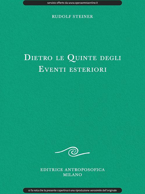O.O. 178 - Dietro le Quinte degli Eventi esteriori