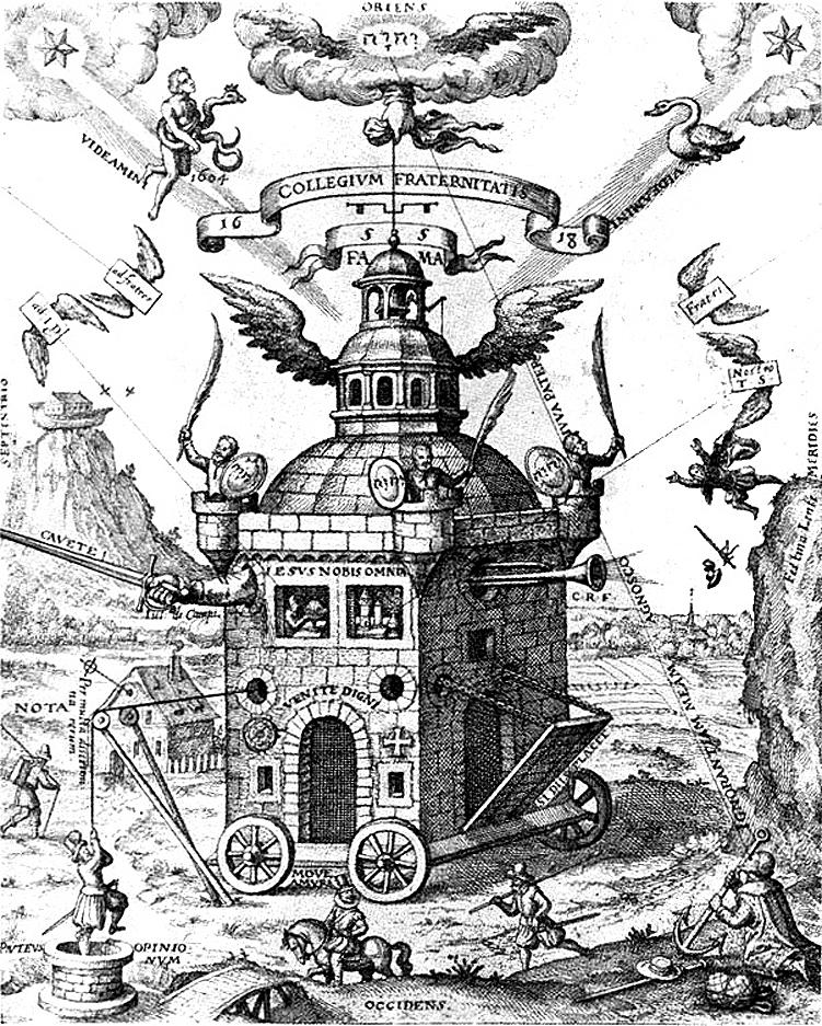 T. Schweighart: Speculum sophicum Rhodostauroticum (1604)