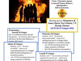 Ritiro di MEDITAZIONE, SCIENZA SPIRITUALE E ARTE a Firenze