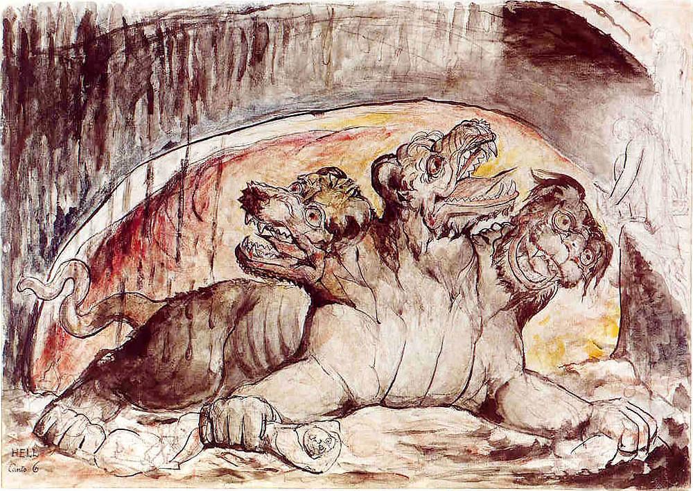 William Blake: Cerberus
