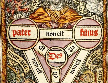 I 3 Logoi della Santissima Trinità
