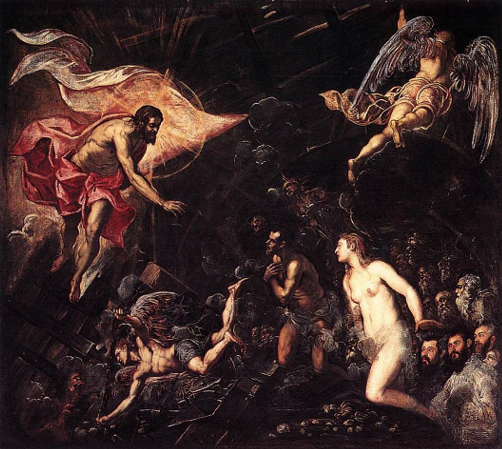 Tintoretto: Discesa agli Inferi (1568)