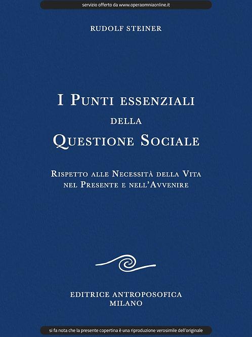 O.O. 23 - I Punti Essenziali della Questione Sociale