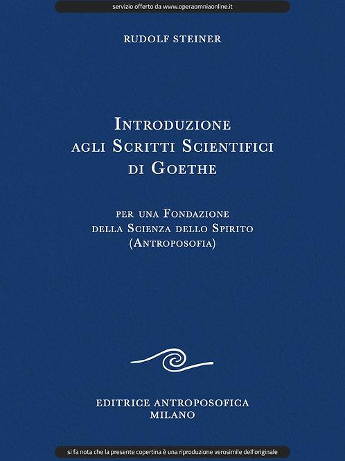 O.O.1 - Introduzione agli Scritti Scientifici di Goethe