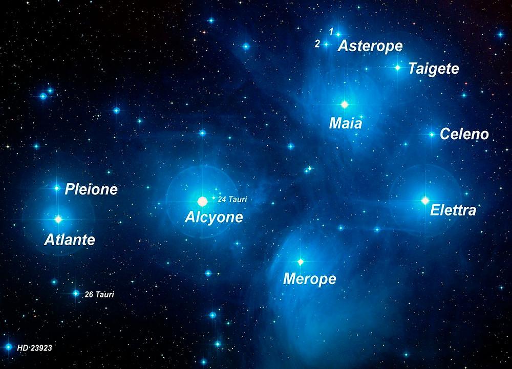 Le Pleiadi, le Sette Sorelle