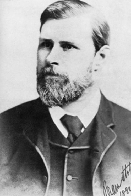 Bram Stoker nel 1882