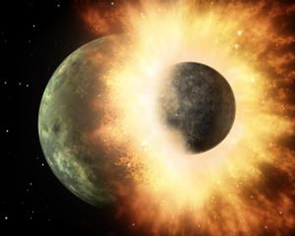 L'espulsione della Luna