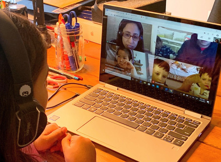 Donum Dei Distance Education: A Day in the Life with Pre-K/K