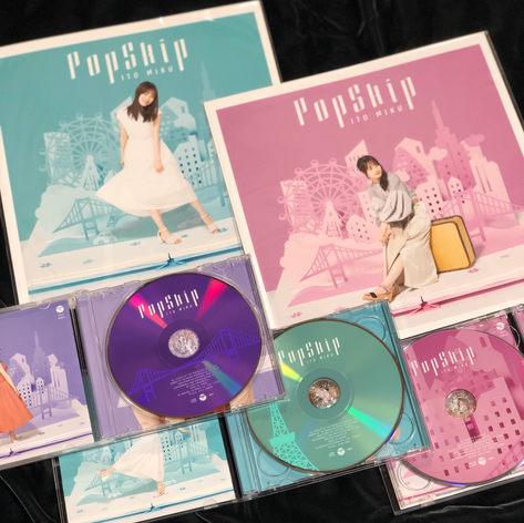 伊藤美来さん Pop Skip CDジャケット制作 紙成鳴美