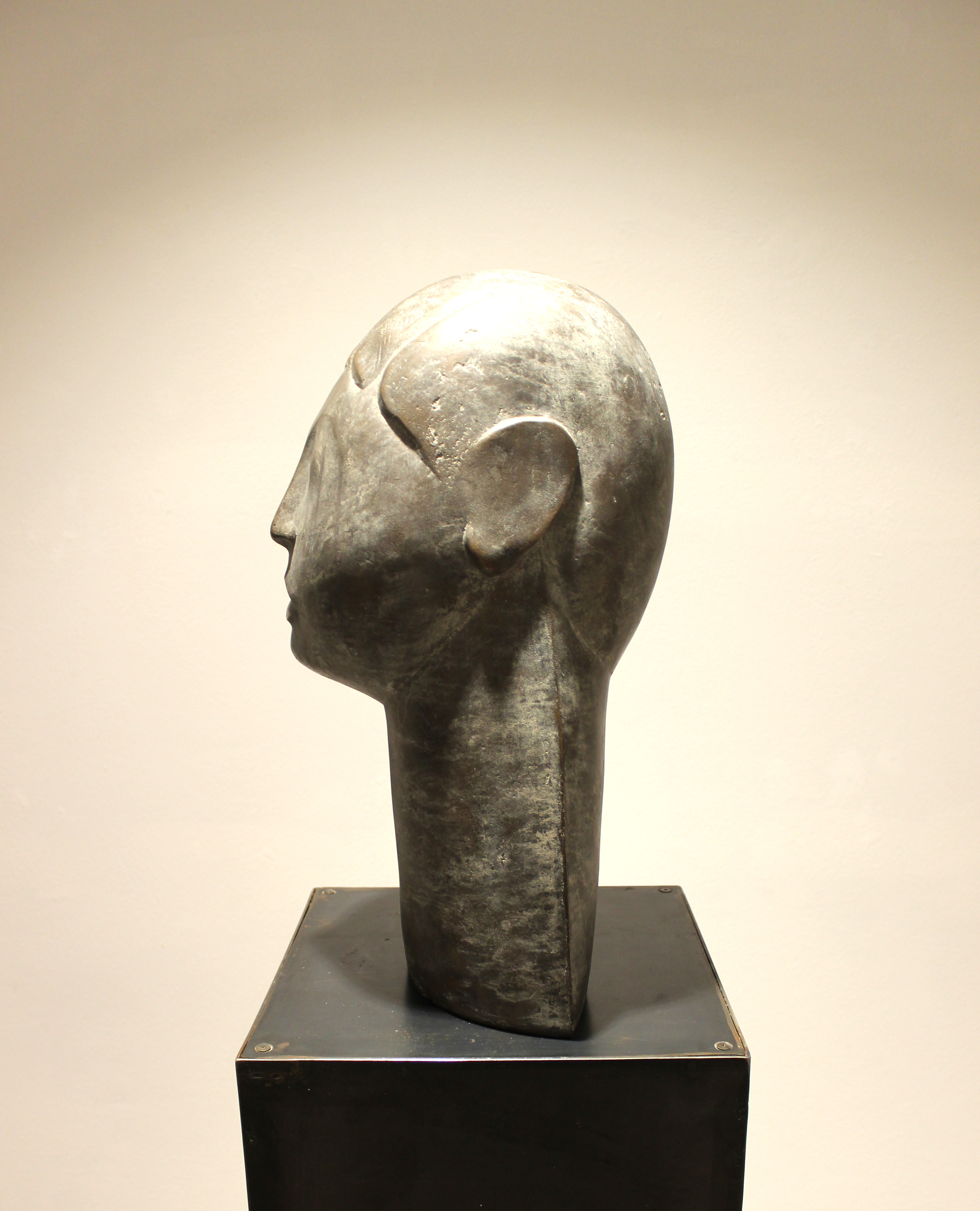 Kopf mit großem Hals