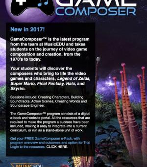Star Attraction: GameComposer on 29th April
