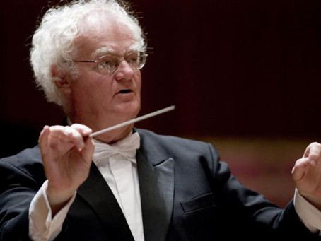 We mourn the loss of conductor Richard Gill