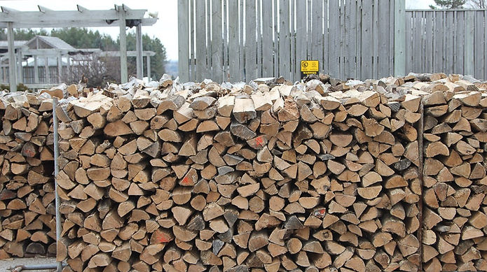 All oak firewood from Wisconsin