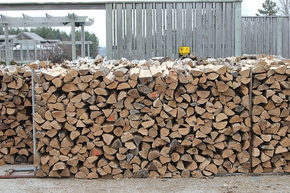 All oak firewood from Wisconsin.