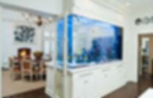 обслуживние аквариумов дома или в офисе