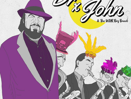 MUZIEKTIP VAN DE MAAND | DR. JOHN & THE WDR BIG BAND | BIG BAND VOODOO