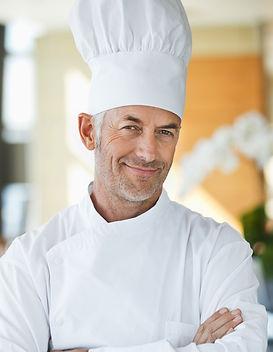 Chef com chapéu