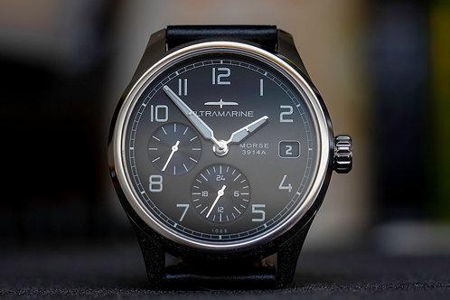 Ultramarine Morse 9141N (GMT) • Eterna Cal. 3914A • Black Edition of 300