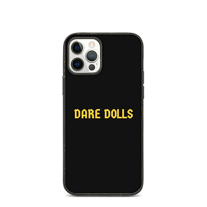 Gold DARE DOLLS Biodegradable phone case