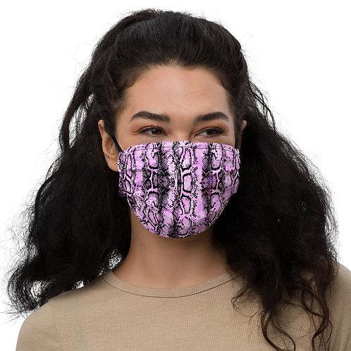 PINK SNAKE Face mask