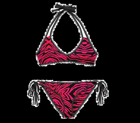 SUNSET TIGER Reversible Bikini Set