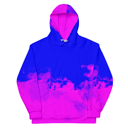 Rose Bleu Unisex Hoodie