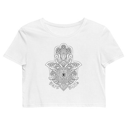 KHAMSA Organic Crop Top