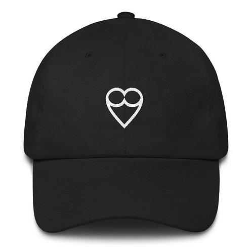 HEART BLACK CAP