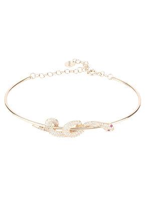 Cleopatra Serpent Snake Bangle Bracelet Rosegold
