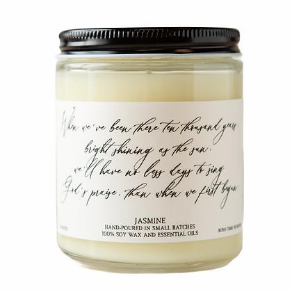 Jasmine Hymn Candle-Amazing Grace