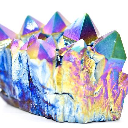 Rainbow Quartz Clusters