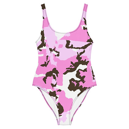 PINK CAMO One-Piece Swimsuit