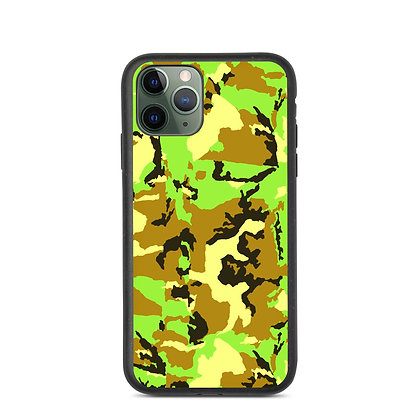 GREEN CAMO Biodegradable phone case