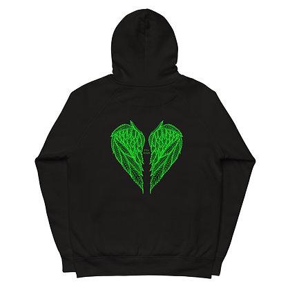 FLY HIGH organic hoodie