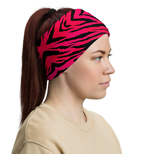 SUNSET TIGER  Neck Gaiter
