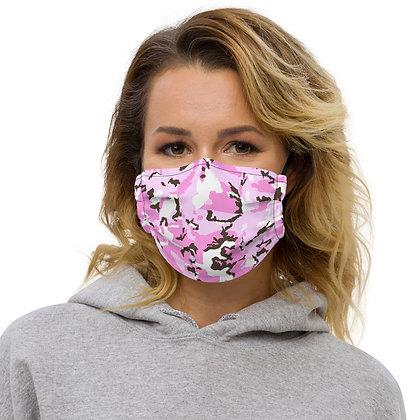 PINK CAMO Face mask