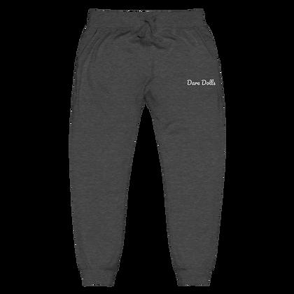 DARE DOLLS Signature Unisex fleece sweatpants (embroidered)