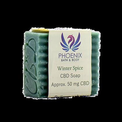 Phoenix Natural Wellness - CBD Bath - Myrrh With Clove Soap - 50mg