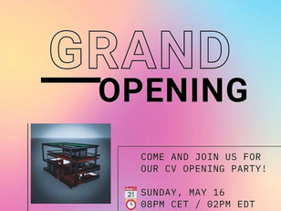 VGBerlin x Cryptovoxels Grand Opening
