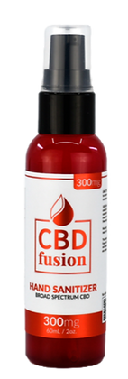 CBD Fusion - CBD Topical - Broad Spectrum Hand Sanitizer - 300mg