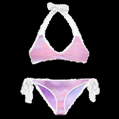 NUAGE ROSE Reversible Bikini Set