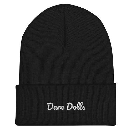 Dare Dolls  Cuffed Beanie (embroidered)